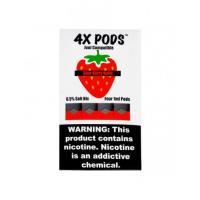 Картридж 4X Pods Sour Berry Belts для электронной сигареты Juul 6,5% (Клубника)