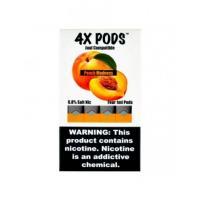 Картридж 4X Pods Peach Madness для электронной сигареты Juul 6,5% (Персик)