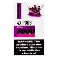 Картридж 4X Pods Grape для электронной сигареты Juul 6,5% (Виноград)