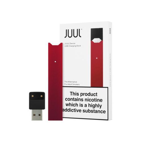 Стартовый набор POD система Juul Basic Kit Red Limited Edition Original (Red, лимитированая серия, оригинал)