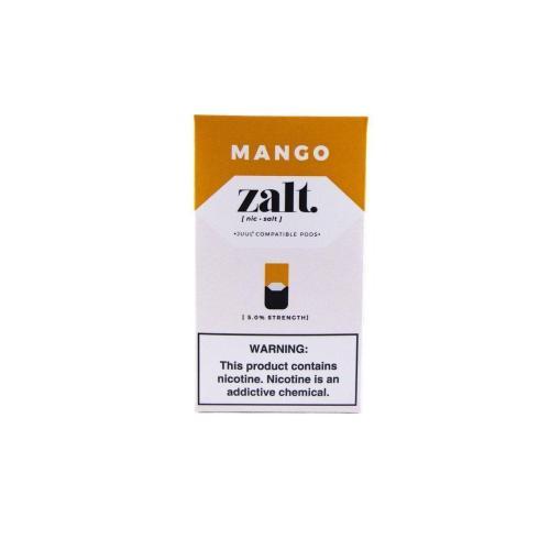 Картридж Zalt Mango для POD систем 5% 4 шт, совместим с JUUL POD (Манго)