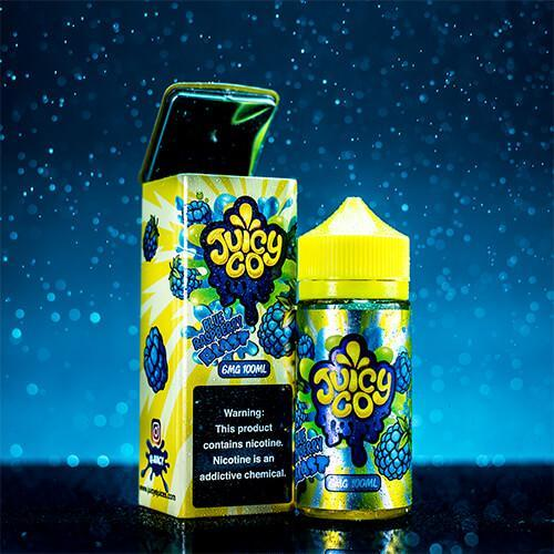 Жидкость для электронных сигарет Juicy Co Blue Raspberry Blast 3 мг 100 мл