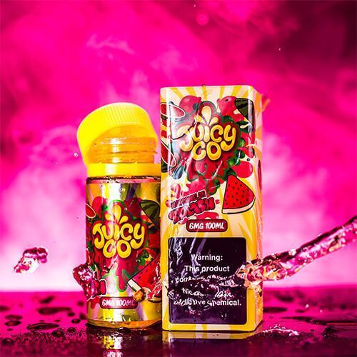 Жидкость для электронных сигарет Juicy Co Watermelon Splash 3 мг 100 мл
