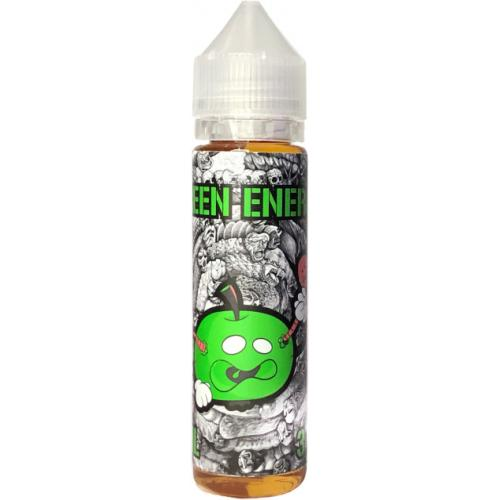 Рідина для електронних сигарет Parom Vape Labs Green Energy 3 мг 60 мл (Енергетик + зелене яблуко)