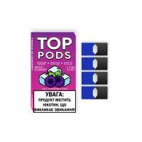Картридж Top Pods Freeze Blueberry для электронной сигареты Juul 5% (Черника+куллер)