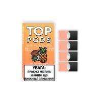 Картридж Top Pods Pina colada для электронной сигареты Juul 5% (Пина колада)