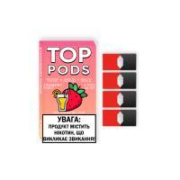 Картридж Top Pods Strawberry Punch для электронной сигареты Juul 5% (Клубничный пунш)