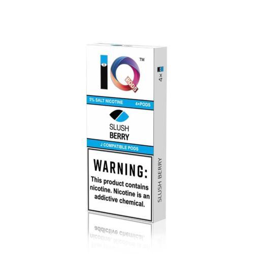 Картридж IQ Pods Slush Berry для электронной сигареты Juul 5% (Ягоды)