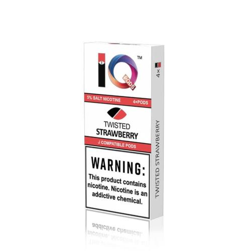 Картридж IQ Pods Twisted Strawberry для электронной сигареты Juul 5% (Клубника)