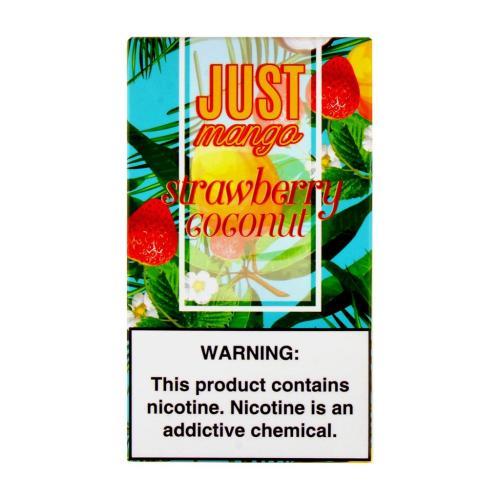 Картридж Just Mango Strawberry Coconut для электронной сигареты Juul 5% (Клубника+кокос)