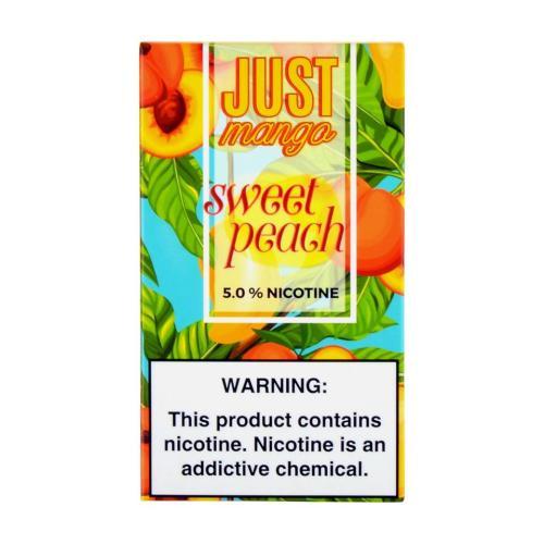 Картридж Just Mango Sweet Peach для электронной сигареты Juul 5% (Сладкий персик)