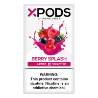 Картридж Xpods Berry Splash для электронной сигареты Juul 5% (Ягоды)