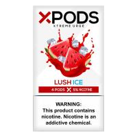 Картридж Xpods Lush Ice для электронной сигареты Juul 5% (Арбуз+куллер)