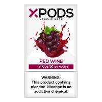 Картридж Xpods Red Wine для электронной сигареты Juul 5% (Виноград)