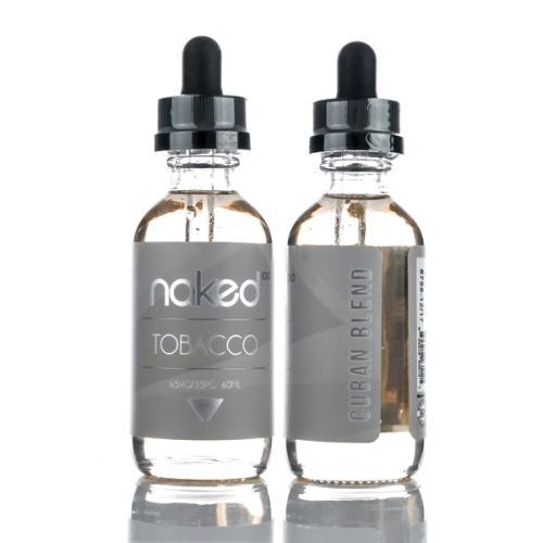 Жидкость для электронных сигарет Naked 100 Tobacco By Schwartz Cuban Blend 6 мг 60 мл