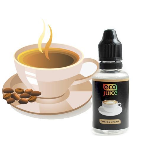 Жидкость для электронных сигарет Eco Juice Coffee Creme 3 мг 30 мл