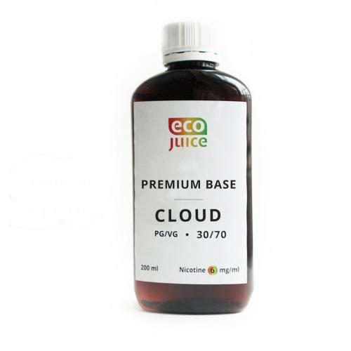 База для электронных сигарет Eco Juice Clouds 200 мл 30/70 6 мг