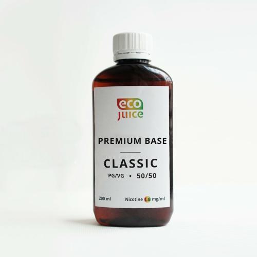 База для электронных сигарет Eco Juice Classic 200 мл 50/50 1.5 мг