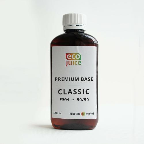 База для электронных сигарет Eco Juice Classic 200 мл 50/50 6 мг
