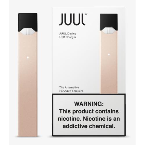 Стартовый набор POD-система JUUL Basic Kit Limited edition Blush Gold (Золотой)