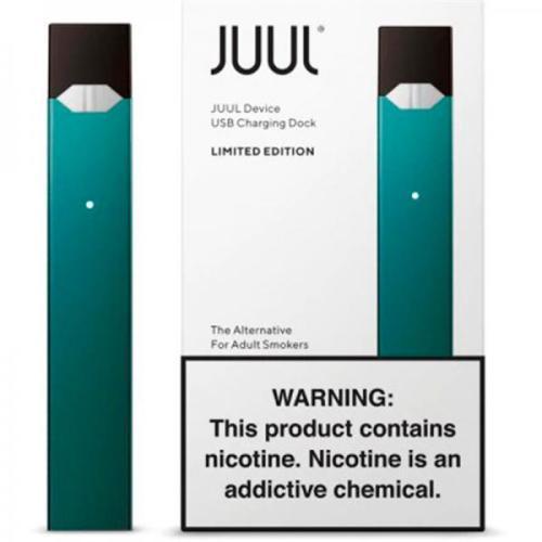 Стартовый набор POD-система JUUL Basic Kit Limited edition Turquoise (Бирюзовый)