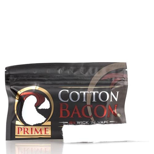 Вата для электронных сигарет Wick 'N' Vape Cotton Bacon Prime 10 гр