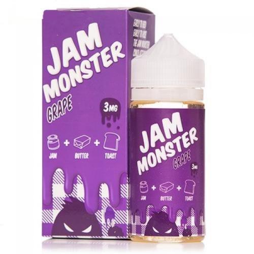 Жидкость для электронных сигарет Jam Monster Grape 3 мг 100 мл