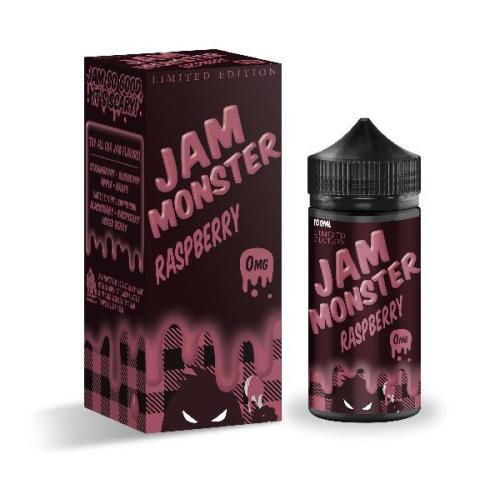 Жидкость для электронных сигарет Jam Monster Raspberry (Limited Edition) 3 мг 100 мл